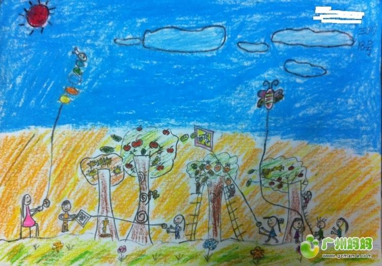 三年级 更新 秋天的童 画 家有小学生