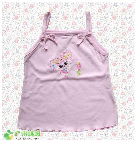粉红小女孩吊带.jpg 高清图片