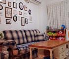 客厅怀旧风格沙发